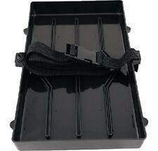 BOAT MARINE RV AUTO TRAILER BATTERY TRAY HOLD DOWN FOR GROUP 29 & 31 WITH STRAPS