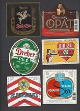 Slovakia collection of Beer labels 40+