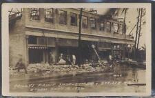 RP Postcard MIAMI Florida/FL Reilly's Paint Store Hurricane Disaster Damage 1929
