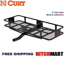 CURT TRAILER HITCH MOUNT FIXED CARGO RACK BASKET CARRIER  60 x 20 x 6     18150