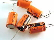 63v 220uf Radial Electrolytic Capacitor 15mm x 25mm 5 pieces OL0538c