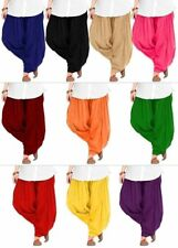 Indian Patiala Salwar Ethnic Cotton Pant for Women Dance Trouser ready to wear