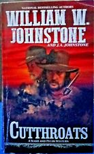 """""""Cutthroats"""" Paperback William W. Johnstone  And J.A. Johnstone Pinnacle 2019"""