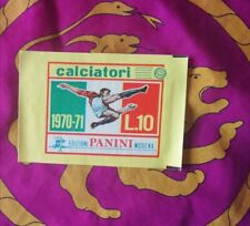 Bustina sigillata Calciatori Panini 1970 71 - L.10  termosaldata, perfetta 70 71