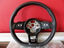 5G0419091EM STEERING WHEEL LEATHER LENKRAD LEDER MULTIFUNCTION R-LINE VW GOLF