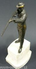 Antike Figur eines Jägers Waidmanns 20ger Jahre