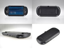 Black Carbon Fiber Vinyl Decal Skin Sticker for Sony PlayStation PS Vita PSV