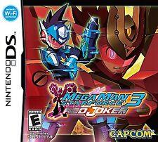 Mega Man Star Force 3 Red Joker Megaman Nintendo DS