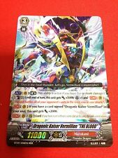 "CARDFIGHT Vanguard English  BT09/008EN RRR Dragonic Kaiser Vermillion ""THE BLOOD"