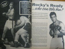 1954 Boxing(ROCKY  MARCIANO/KID  GALIVAN/BOBO  OLSON/DANNY NARDICO/JIMMY CARTER)