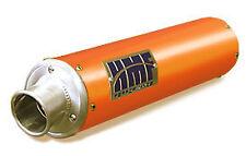 HMF Sport Exhaust Pipe Muffler Kymco Mongoose Orange