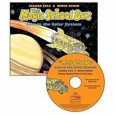 The Magic School Bus :Lost in the solar system  (2012 CD AUDIOBOO ONLY NO BOOK)!
