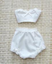 "18"" Miss Revlon Dollikin Fashion Clothes Lingerie Ivory Taffeta Undies #2"