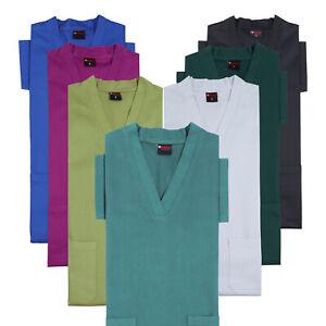 Medical SCRUB 100% Cotton Top Excellent Fit Tunic Medical SCRUB Hosital Uniform