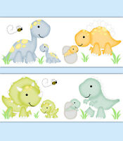 Dinosaur Baby Boy Nursery Decor Decals Wall Art Wallpaper Border Room Stickers