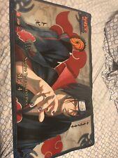 Official Naruto Bandai Playmat CCG TCG Shipudden - Itachi Uchiha and Tobi RARE