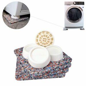 Antivibrationsmatte für Waschmaschine Antirutschmatte Vibrationsdämpfer 4er Set