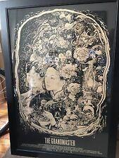 The Grandmaster Poster Print Mondo Vania Zouravliov Limited Edition Wong Kar Wai