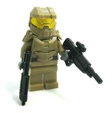 Lego Custom Space Marine Minifigure -Dark TAN- Brickarms Brickforge