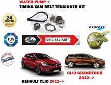 FOR RENAULT CLIO + GRANDTOUR 1.2 16V 2012-> WATER PUMP + TIMING CAM BELT KIT