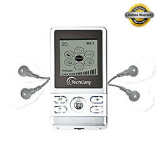 TENS Unit Device Massager Full Body Neck Back Pain Ache Sciatica Relief White