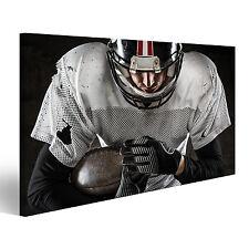American Football Spieler Bild auf Leinwand Poster BLI-1K