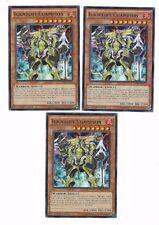X3 YUGIOH IGKNIGHT CHAMPION CORE-EN033 RARE 1ST IN HAND
