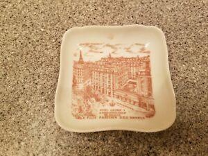 Vintage George V Hotel Limoges Ashtray/Trinket Dish Paris France