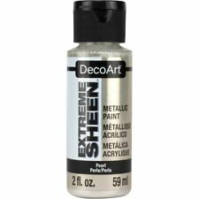 6 Pack-DecoArt Extreme Sheen Paint 2oz-Pearl -Dpm-01