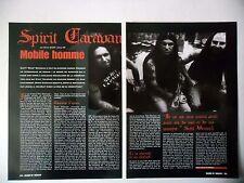 COUPURE DE PRESSE-CLIPPING :  SPIRIT CARAVAN [2pages] 10/2001 Scott Weinrich