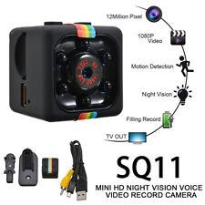 SQ11 Mini Cámara 1080P HD Con Camara Oculta Y Sensor Movimiento Espía Vídeo