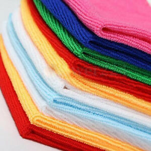 10xMulti-Color Soothing Cotton Face Soft Towel Cleaning Wash Cloth Hand Towelssl
