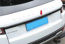Gloss Black Rear Trunk Tailgate Lid molding trim Strip range rover EVOQUE 2011+
