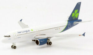 Herpa Wings 533690 Aer Lingus Airbus A320 New Livery 1/500 Scale Diecast Model