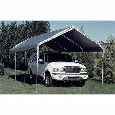replacement canopy silver 10 x 20 carport cover frame not included new