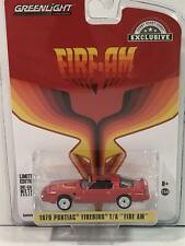 1979 Pontiac Firebird Fire am Red 1:64 Scale Greenlight 30147