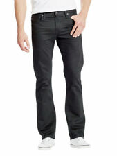 Jeans da uomo bootcut medio nero