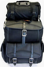 MOTORCYCLE SISSY T BAR BAGS PLAIN BAG SIDE ACCESS TRAVEL LUGGAGE ALL NEW