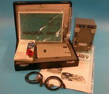 Nagra SNST Mini Spy Tape Recorder & DSP Playback Unit + Mics - Israeli Gov Issue