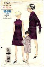 Vintage 1960s Vogue Special Sewing Pattern Women's DRESS JACKET 6923 Sz 12 UNCUT