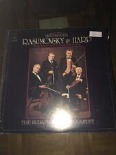Beethoven Rasumovsky & Hard LP Budapest String Quartet (924)