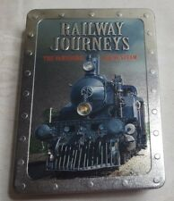 RAILWAY JOURNEYS The Vanishing Age of Steam DVD 5 Movie Pack in Collectors Tin