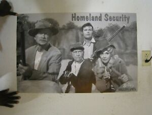The Beverly Hillbillies Poster Homeland Security
