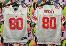 New York Giants Jeremy Shockey #80 NFL Jersey Reebok Top Boys Youth Size L