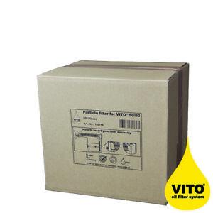 VITO® Partikelfilter V50/80, 100 Stück