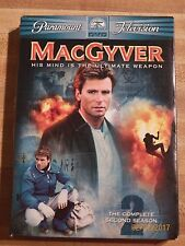 MacGyver The Complete Second Season Dvd Richard Dean Anderson drama espionage