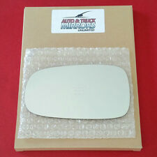 Mirror Glass + ADHESIVE for 03-11 SAAB 9-3 93 / 03-09 Saab 9-5 95 Driver Side