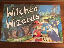 Witches and Wizards Board Game by Howie Productions - Signed - Sealed