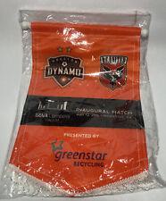 New listing New Houston Dynamo 12x15 Vertical Banner Inaugural Match May 2012 BBVA Compass