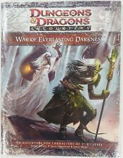 Dungeons & Dragons D&D Encounters War of Everlasting Darkness Adventure Sealed